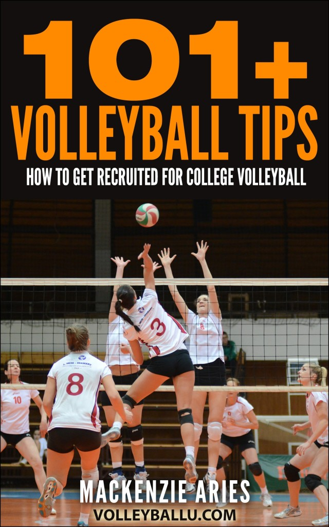 101+ Volleyball Tips Book Cover
