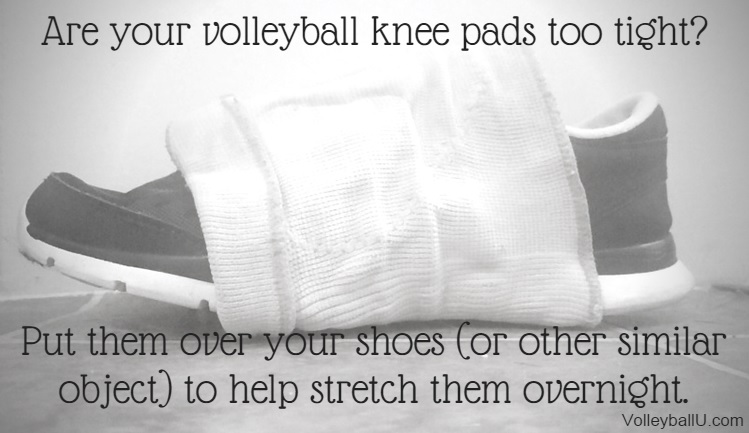 Knee Pad on Shoe Pin